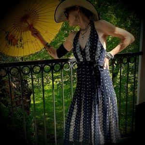 Michael Kors 100% Silk Halter Sundress